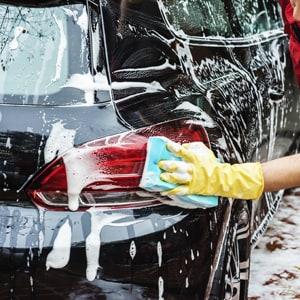 Rock Row Concierge Car Wash Services.